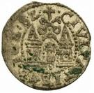 1 denarius Étienne Báthory (Riga) – revers