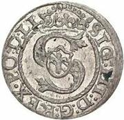 1 schilling Sigismund III Vasa (Riga) – avers