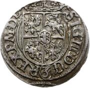 3 polker Sigismund III Vasa (Riga) – avers
