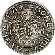 ½ mark Jan Chodkiewicz (château de Dole) -  revers