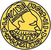 1 dukat Sigismund III Vasa (Riga) – avers