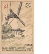 50 Øre (Düppel) – revers