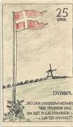 25 Øre (Danish issue) – revers