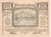 20 Heller ( Dürnstein an der Donau) -  avers
