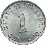 1 Centavo (Estado de Durango) – revers