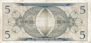 5 Gulden -  revers