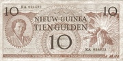 10 Gulden – avers