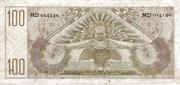 100 Gulden -  revers
