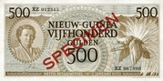 500 Gulden -  avers