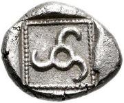 Tetrobol - Vekhssere II (Dynasts of Lycia) – revers