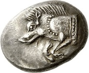 Stater - Uncertain Dynast (Dynasts of Lycia; Uncertain Mint) – avers