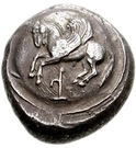 Stater - Teththiveibi (Dynasts of Lycia) – avers