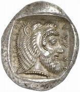 Stater - Kherei (Dynasts of Lycia; Telmessos) – revers