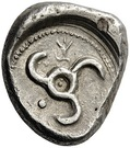 Stater - Khinakha (Dynasts of Lycia; Uncertain mint in eastern Lycia) – revers