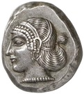 Stater (Teththiveibi) – avers