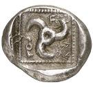 Tetrobol (Dynasts of Lycia) – revers
