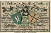 25 Pfennig (Lyck) – avers