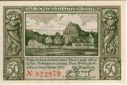 50 pfennig (Lötzen) – revers