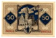 50 Pfennig (Allenstein, Stadt) – revers