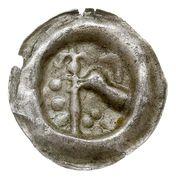 Brakteat - Świętopełk II Wielki (Gdańsk mint) – avers