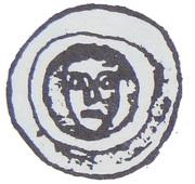 Brakteat - Mściwój II (Tczew mint) – avers