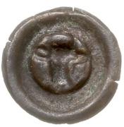 Brakteat - Mściwój II (Chojnice mint) – revers