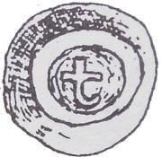 Brakteat - Mściwój II (Gdańsk mint) – avers