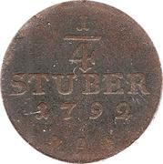 ¼ Stuber – revers