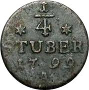 ¼ Stuber - Friedrich II – revers