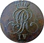 ¼ Stuber - George IV – avers
