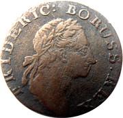 Brandenburg-Preussen Friedrich II – avers