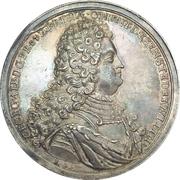 Medal - Coronation of Georg Albrecht (East Friesland) – avers
