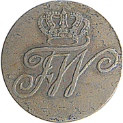 ¼ Stuber - Friedrich Wilhelm II (Eastern Friesland) – avers