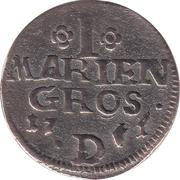 1 mariengroschen Frederick II – revers