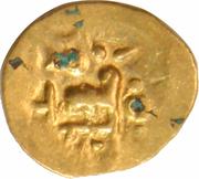 Fanam - Bhanudeva III (Eastern Gangas) – avers