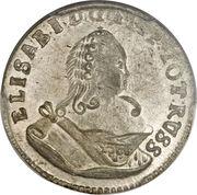 6 gröscher - Elisabeth I – avers