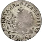 3 groschen - Elisabeth I – revers