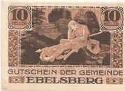 10 Heller (Ebelsberg) – revers