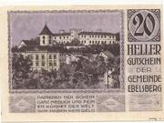 20 Heller (Ebelsberg) – revers