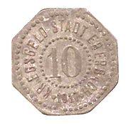 10 pfennig - Eberbach – avers