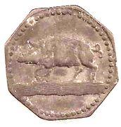 10 pfennig - Eberbach – revers