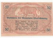 50 Heller (Eberschwang) -  revers