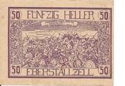 50 Heller (Eberstallzell) -  avers