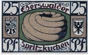 25 Pfennig (Eberswalde) – revers