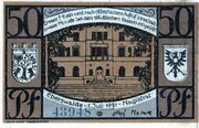 50 Pfennig (Eberswalde) – avers