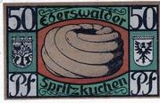 50 Pfennig (Eberswalde) – revers