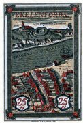 25 Pfennig (Ykernborg) – revers