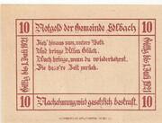 10 Heller (Edlbach) – revers