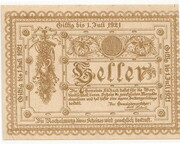 20 Heller (Edlbach) – avers