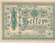 50 Heller (Edlbach) – avers